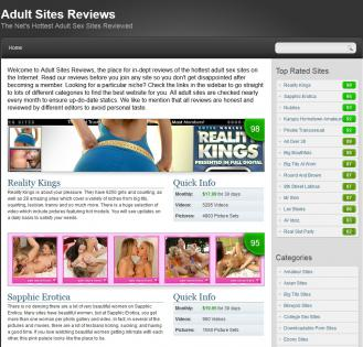 12 Complete review of adult sites